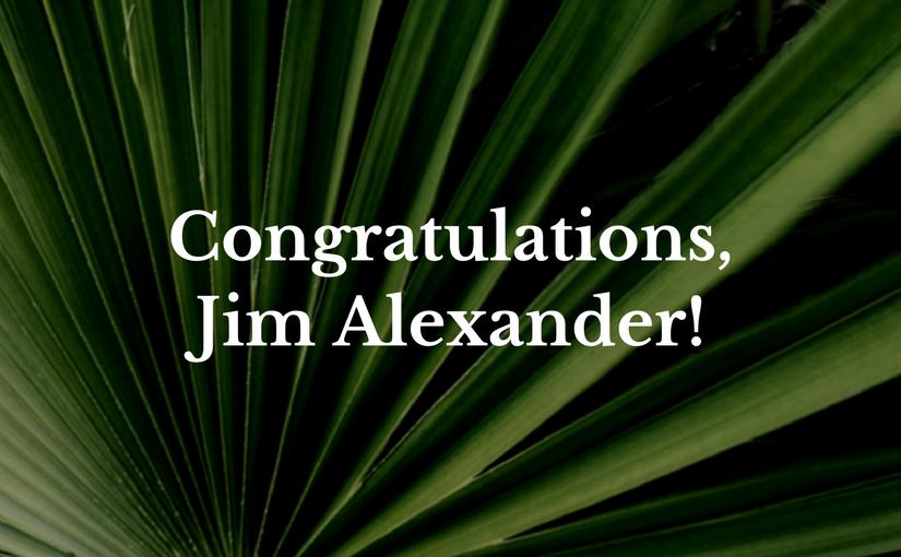 Jim Alexander moving forward for ordination!