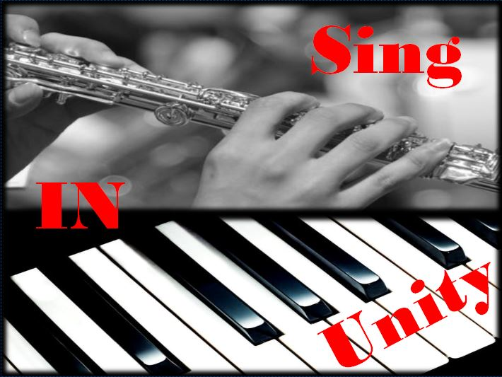 "Sing in Unity - SING IN UNITY will feature Sheryl and Mike Campbell gettin' jazzy with ""O, How I Love Jesus""! This piano/flute duo is from Faith Presbyterian Church."