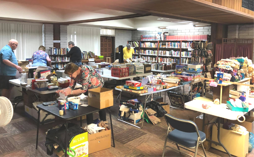 Thank You for Being the Church: Benefits of a Rummage Sale